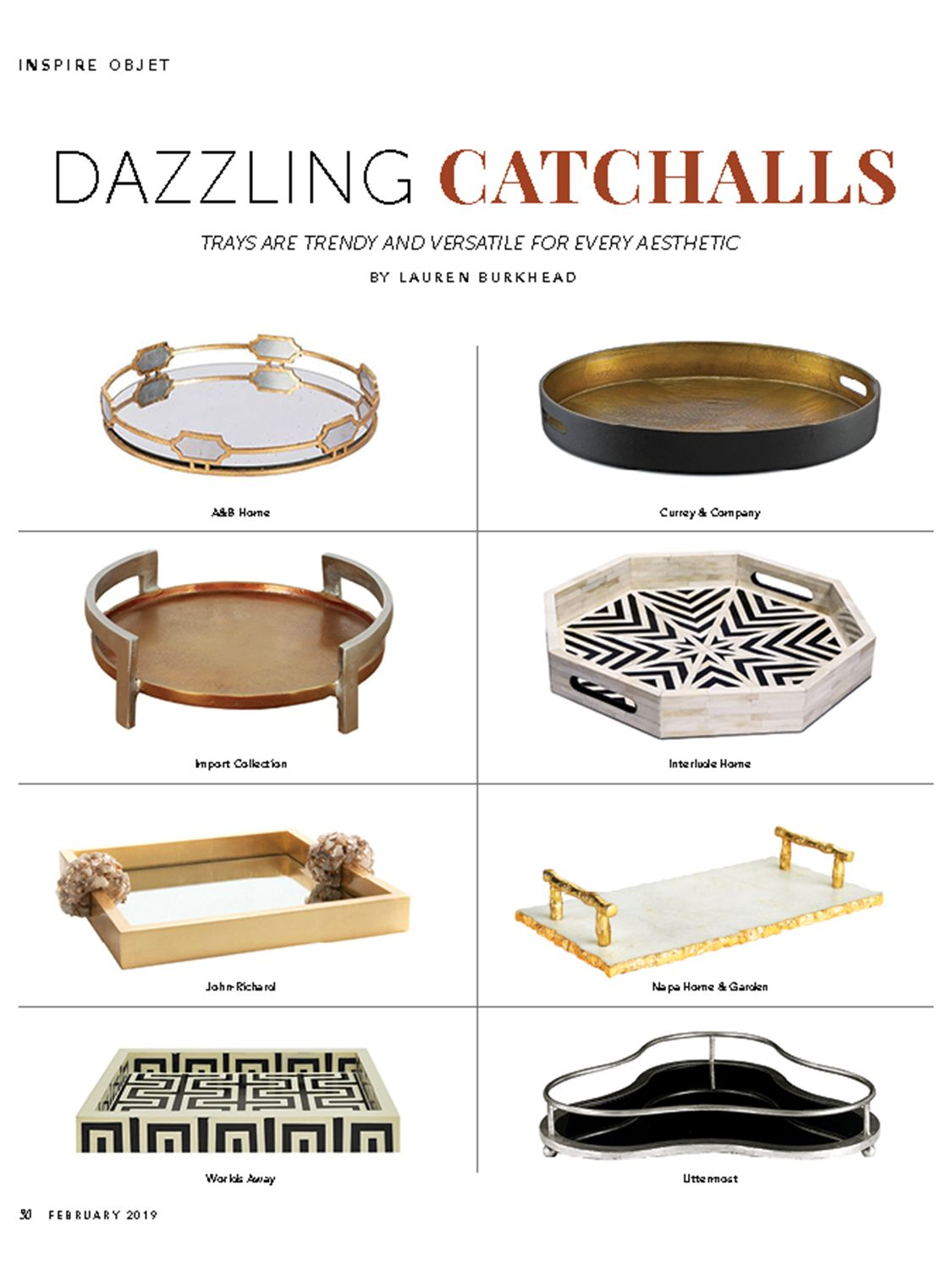 Home Accents Today - February 2019
