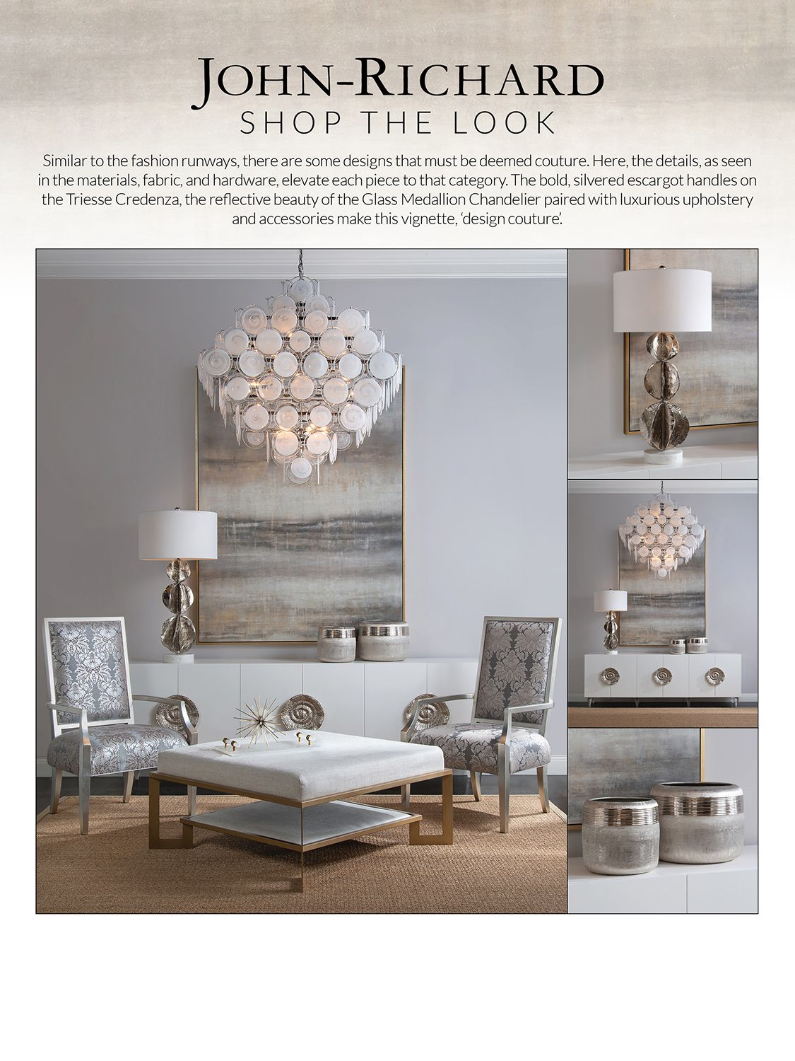 SHOP THE LOOK - Triesse Credenza