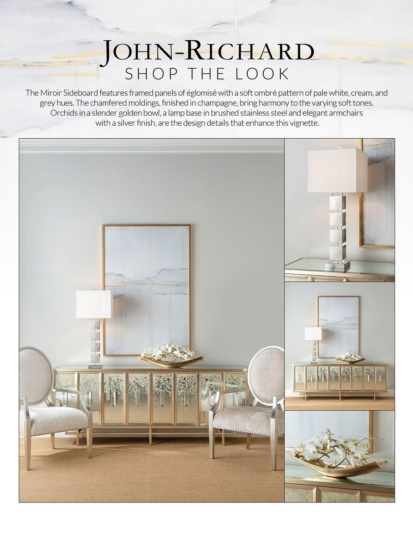 SHOP THIS LOOK - Miroir Sideboard