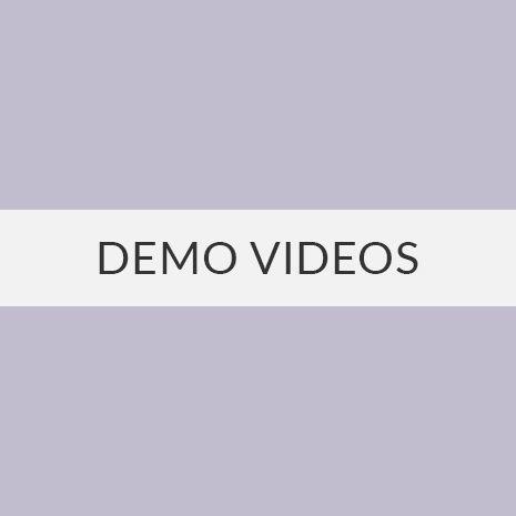 website demo videos